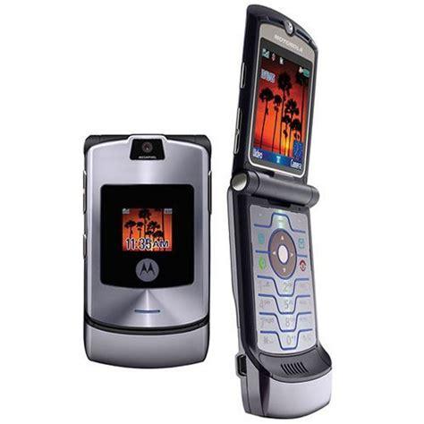 V3 Mobile Phone by Motorola Razr V3 Unlocked Flip Mobile Phone New Boxed 10