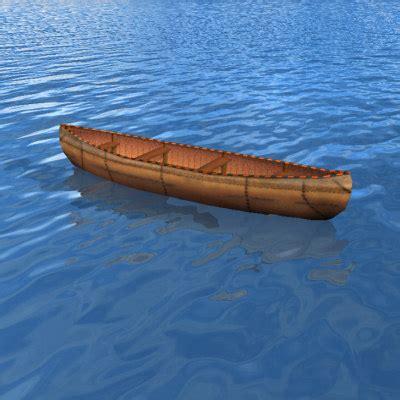 Canoe Boat by Canoe Boat 3d Model