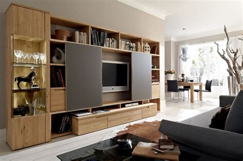 Wooden Finish Wall Unit Combinations From Hulsta by Wooden Finish Wall Unit Combinations From H 252 Lsta Inside