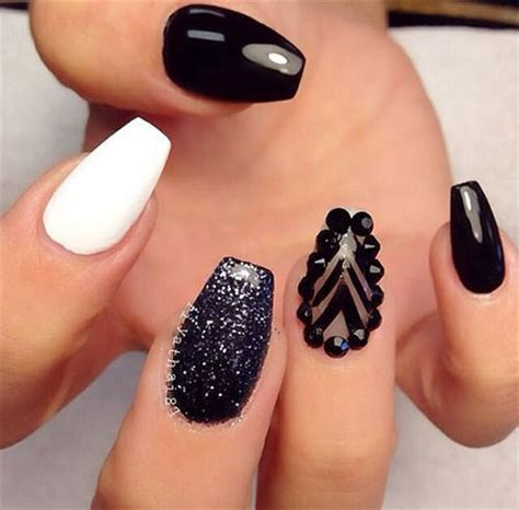 black nail designs 12 winter black nail designs ideas trends