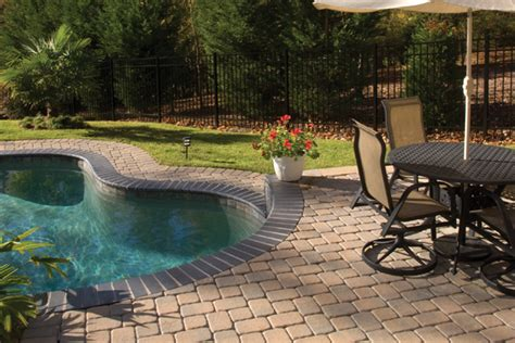 pool deck pavers in sacramento custom pool paving stones