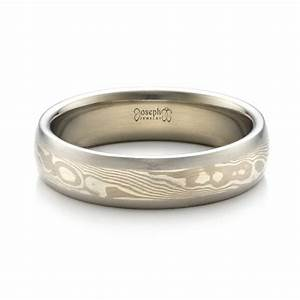 men39s palladium mokume wedding band 1463 With palladium wedding ring men