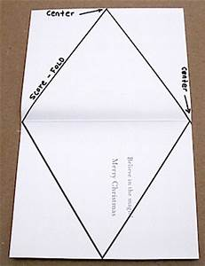 triangle packaging template - gift box patterns