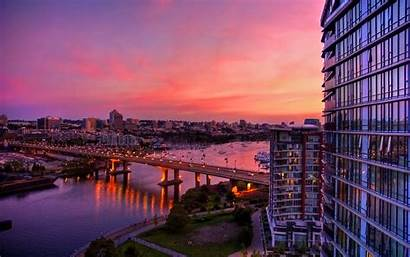 Cities Places Wallpapers Background Place Desktop Sunset