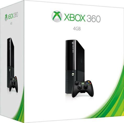 microsoft xbox 360 4gb console microsoft xbox 360 e 4gb console black 4 gb brand new ebay