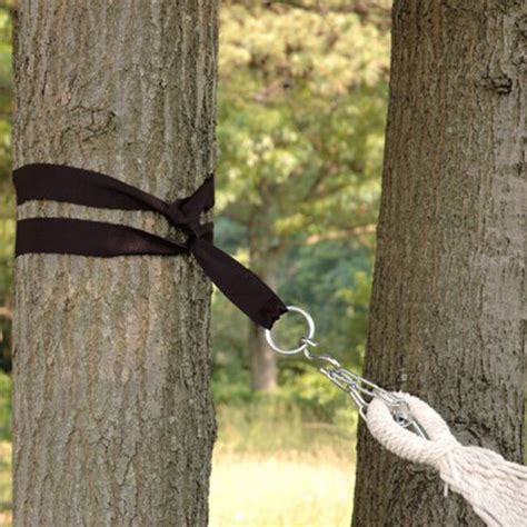 How To Use Hammock Tree Straps by Hanging Hammock Tree Straps Kit 2 Quot Hook S Rings 300