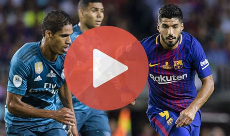 Watch Real Madrid vs Barcelona live Stream free | Sports Champs