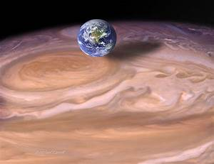 spaceexp:The Earth compared to the Giant Red Spot on ...