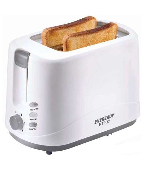 How To Use Pop Up Toaster - eveready pt102 750 watts pop up toaster price in india