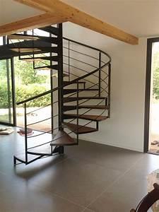 Escalier En Colimaçon : escalier m tallique en colima on dans l 39 h rault ~ Mglfilm.com Idées de Décoration
