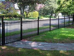Decorative metal garden fence, home depot wrought iron