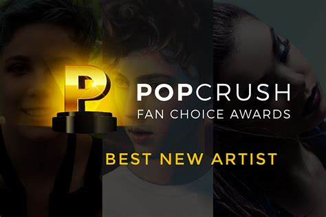 The PopCrush Fan Choice Awards: Best New Artist