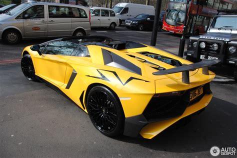 lamborghini aventador sv roadster autogespot lamborghini aventador lp750 4 superveloce roadster 12 march 2016 autogespot