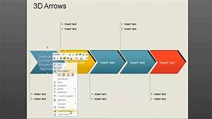 How To Use 3d Arrow Diagram In Powerpoint