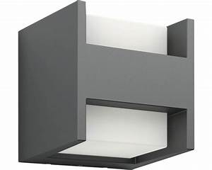 LED Auenwandleuchte EEK A Arbour 2x45W Anthrazit Bei