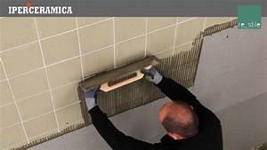 Posa rivestimento gres porcellanato sottile IPERCERAMICA YouTube