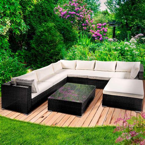 Polyrattan Möbel Garten by Poly Rattan Gartenm 246 Bel Lounge M 246 Bel Sitzgarnitur