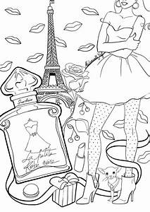 coloriage la petite robe noire i petite robes adult With coloriage robe