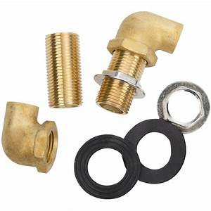 Regency Wall Mount Faucet Installation Kit  2 U0026quot  Inlet