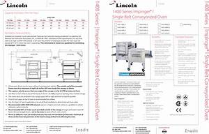 Lincoln Impinger I 1447 000 N Users Manual