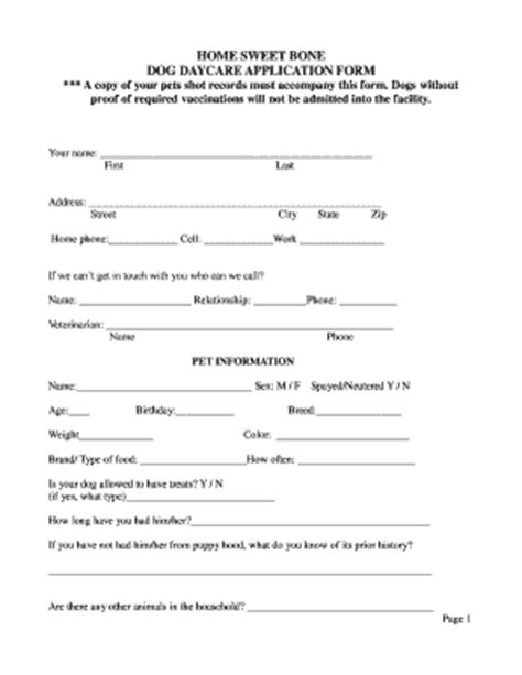child care employment application form daily attendance sheet forms and templates fillable
