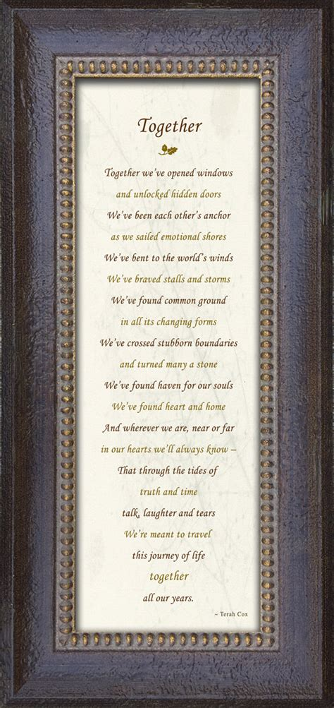 wedding anniversary  family poem  terah