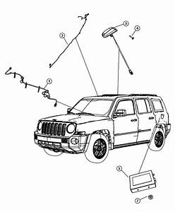 2006 Dodge Ram 1500 Receiver  Satellite   Sirius Satellite