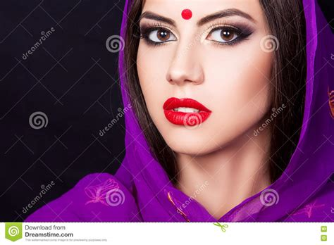 maquillage indienne fille maquillage indienne fille photo