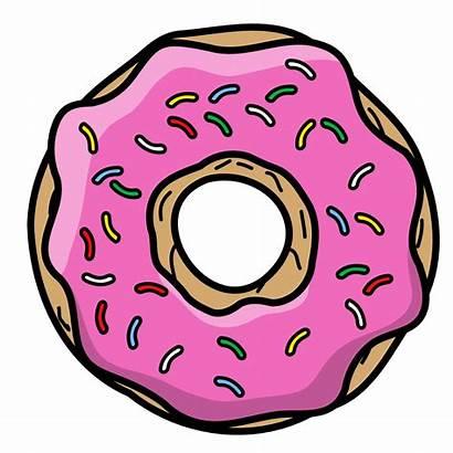Donut Cartoon Thegoldenbox Simpsons Vector Deviantart