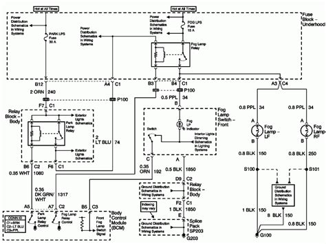 Chevy Tahoe Light Wiring Diagram by My 2002 Tahoe S Fog Lights Will Not Work I Replaced