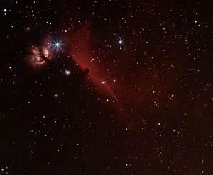 The Flame Nebula (NGC2024), Alnitak, IC 434, and the ...