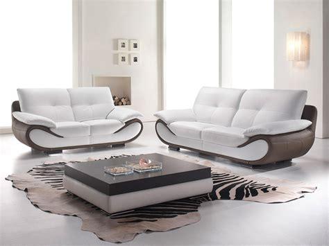 canape cuir design contemporain sublime canapé contemporain en cuir terre meuble