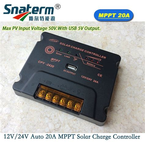 Mppt Solar Charge Controller Battery Panel