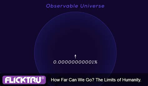 How Far Can The Universe Human Limitations