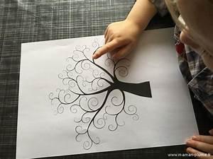 Arbre A Empreinte : l 39 arbre empreintes le blog de maman plume ~ Preciouscoupons.com Idées de Décoration