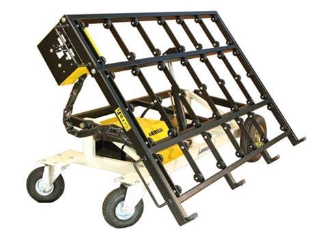 tilting slab transport cart granite slab cart