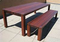 fine patio side table plans Outdoor Dining Table Plans