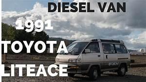 1991 Toyota Liteace Diesel Van Fxv Skylite Roof By Ottoex