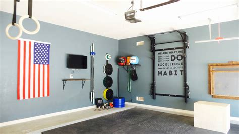 Garage Workout Room Ideas by Clean Home Equipped With The Prx Profile Rack And