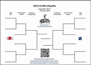 Pdf Printable Nfl Playoffs Bracket Football Predictions