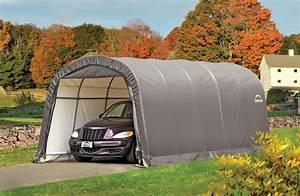 Abri De Jardin Demontable : garage demontable shelterlogic 3 7x6 1 m ~ Nature-et-papiers.com Idées de Décoration
