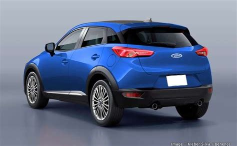 ford ecosport  gen front  rear render based