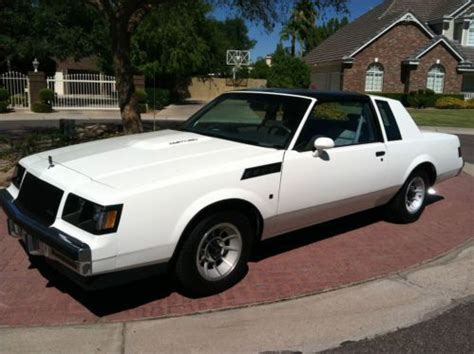 Buick Turbo T by Sell Used 1987 Buick Turbo T In For Us 15 900 00