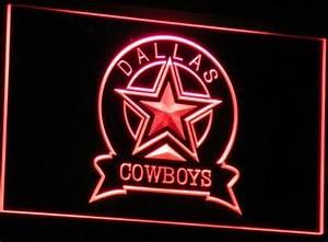 Cowboys Neon Signs Dallas Cowboys Neon Sign Cowboys Neon