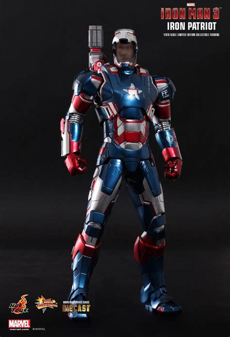 Marvel Civil War Wallpaper Iron Patriot From Hot Toys Mifty Is Bored