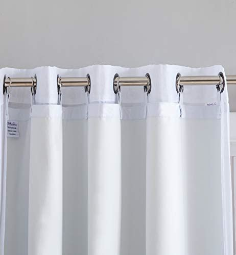 Blackout Drape Liner - panels hlc me white thermal insulated 100 blackout