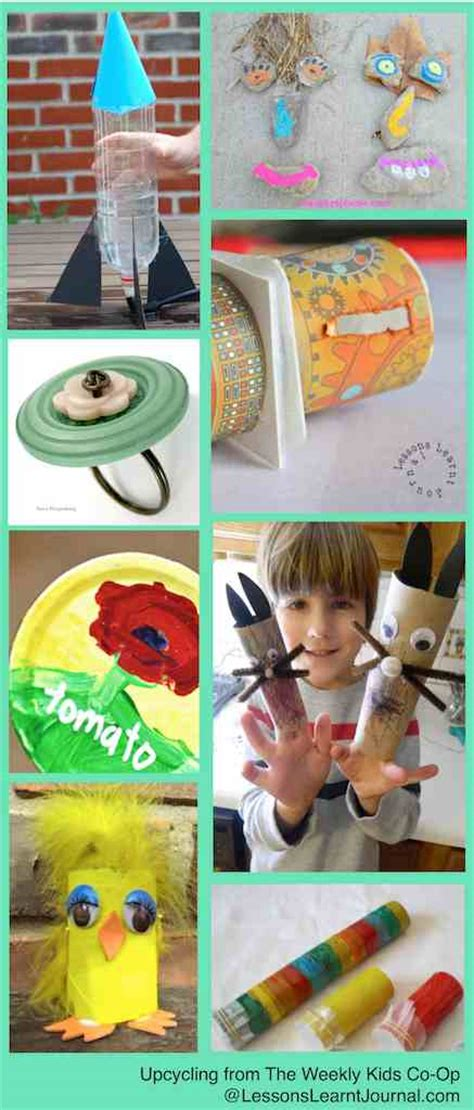 Earth Day Activities For Kids Upcycling