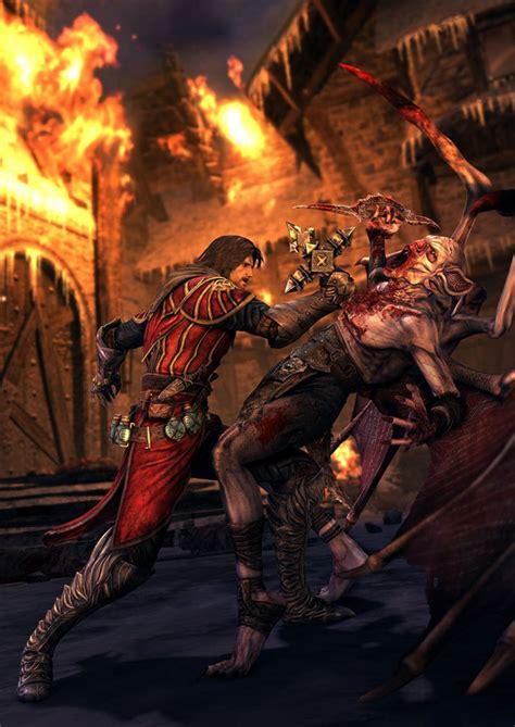 Gabriel Vs Vampire Castlevania Lords Of Shadow Art