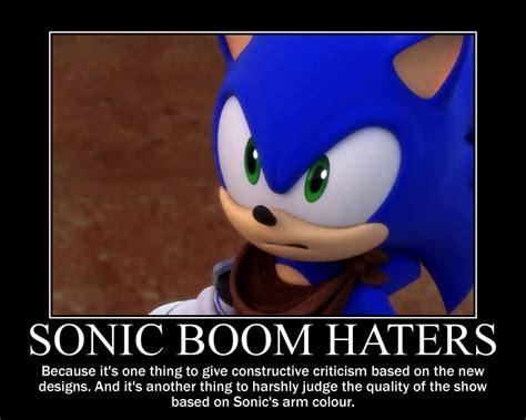 Sonic Boom Memes - sonic boom haters sonic the hedgehog photo 38077458 fanpop