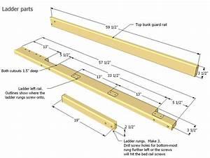 Woodwork Bunk Bed Ladder Plans PDF Plans